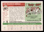 2004 Topps Heritage #267  Rocky Biddle  Back Thumbnail