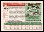 2004 Topps Heritage #362  Justin Morneau  Back Thumbnail