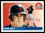 2004 Topps Heritage #339  Todd Self  Front Thumbnail