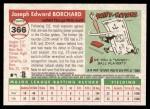 2004 Topps Heritage #366  Joe Borchard  Back Thumbnail