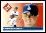 2004 Topps Heritage #294  Chad Billingsley  Front Thumbnail
