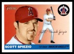 2004 Topps Heritage #309  Scott Spiezio  Front Thumbnail