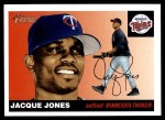 2004 Topps Heritage #381  Jacque Jones  Front Thumbnail
