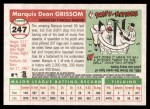 2004 Topps Heritage #247  Marquis Grissom  Back Thumbnail