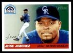 2004 Topps Heritage #262  Jose Jimenez  Front Thumbnail