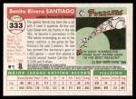2004 Topps Heritage #333  Benito Santiago  Back Thumbnail