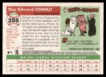2004 Topps Heritage #255  Roy Oswalt  Back Thumbnail