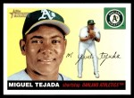 2004 Topps Heritage #286  Miguel Tejada  Front Thumbnail