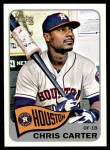 2014 Topps Heritage #39  Chris Carter  Front Thumbnail