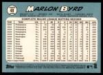 2014 Topps Heritage #48  Marlon Byrd  Back Thumbnail