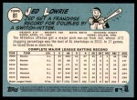 2014 Topps Heritage #81  Jed Lowrie  Back Thumbnail