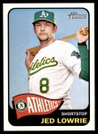 2014 Topps Heritage #81  Jed Lowrie  Front Thumbnail