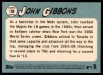 2014 Topps Heritage #158  John Gibbons  Back Thumbnail