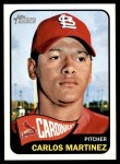 2014 Topps Heritage #174  Carlos Martinez  Front Thumbnail