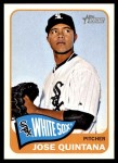 2014 Topps Heritage #178  Jose Quintana  Front Thumbnail