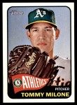 2014 Topps Heritage #191  Tommy Milone  Front Thumbnail