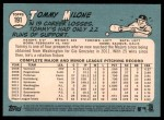 2014 Topps Heritage #191  Tommy Milone  Back Thumbnail
