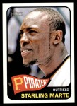 2014 Topps Heritage #205  Starling Marte  Front Thumbnail