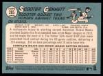 2014 Topps Heritage #285  Scooter Gennett  Back Thumbnail