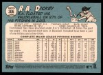2014 Topps Heritage #306  R.A. Dickey  Back Thumbnail