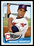 2014 Topps Heritage #376  Michael Brantley  Front Thumbnail