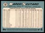 2014 Topps Heritage #389  Marco Scutaro  Back Thumbnail