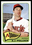 2014 Topps Heritage #413  A.J. Pollock  Front Thumbnail