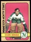 1972 Topps #104  Cesare Maniago  Front Thumbnail
