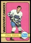 1972 Topps #142  Poul Popiel  Front Thumbnail