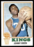 1973 Topps #124  Johnny Green  Front Thumbnail