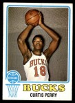 1973 Topps #148  Curtis Perry  Front Thumbnail