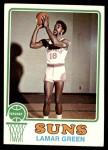 1973 Topps #9  Lamar Green  Front Thumbnail