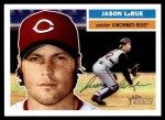 2005 Topps Heritage #133  Jason LaRue  Front Thumbnail