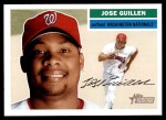 2005 Topps Heritage #51  Jose Guillen  Front Thumbnail