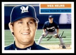 2005 Topps Heritage #26  Wes Helms  Front Thumbnail