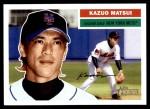 2005 Topps Heritage #28  Kazuo Matsui  Front Thumbnail