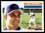 2005 Topps Heritage #114  Alex Cintron  Front Thumbnail