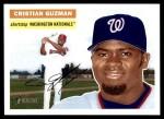 2005 Topps Heritage #109  Cristian Guzman  Front Thumbnail