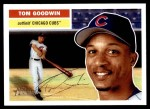 2005 Topps Heritage #128  Tom Goodwin  Front Thumbnail