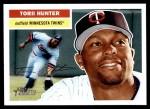 2005 Topps Heritage #82 CAP Torii Hunter  Front Thumbnail
