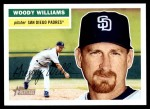 2005 Topps Heritage #98  Woody Williams  Front Thumbnail