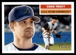 2005 Topps Heritage #13  Chad Tracy  Front Thumbnail