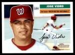 2005 Topps Heritage #198  Jose Vidro  Front Thumbnail