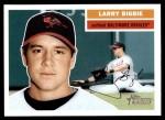 2005 Topps Heritage #94  Larry Bigbie  Front Thumbnail
