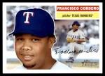 2005 Topps Heritage #247  Francisco Cordero  Front Thumbnail