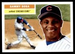 2005 Topps Heritage #300 A Sammy Sosa  Front Thumbnail