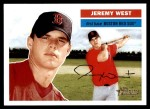 2005 Topps Heritage #283  Jeremy West  Front Thumbnail
