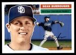 2005 Topps Heritage #379  Sean Burroughs  Front Thumbnail