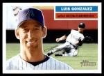 2005 Topps Heritage #271  Luis Gonzalez  Front Thumbnail