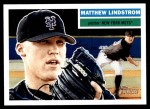 2005 Topps Heritage #378  Matthew Lindstrom  Front Thumbnail